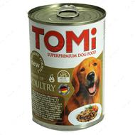 ТОМи 3 ВИДА ПТИЦЫ консервы для собак TOMi 3 kinds of poultry