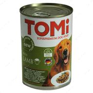 ТОМИ ЯГНЕНОК консервы для собак TOMi lamb