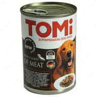 ТОМИ 5 ВИДОВ МЯСА консервы для собак TOMi 5 kinds of meat