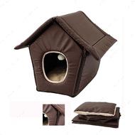 """""""COSY COTTAGE BROWN"""" домик трансформер для кошек и собак малых пород, на молнии"""