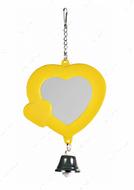 Зеркало для попугаев Heart Mirror