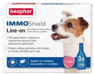 """""""IMMO Shield Line-on"""" Капли от блох, клещей и комаров для собак до 15 кг"""