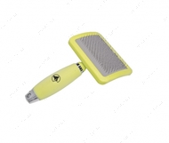 Пуходерка с силиконовой ручкой GlamGel Brush