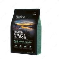 """""""SENIOR TYRKE & POTATOES"""" Натуральный корм с индейкой и картофелем для пожилых собак"""