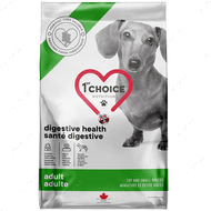 Диетический корм для собак с проблемным пищеварением, малых пород 1st Choice Adult Digestive Health Toy and Small