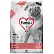 Диетический корм для собак с чувствительной или проблемной кожей 1st Choice Adult Derma