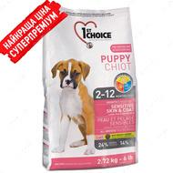 """Сухой корм для щенков всех пород """"Puppy sensitive skin & coat all breeds"""""""