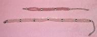 """Ожерелье жемчужное двухрядное """"Сюрприз"""" розовое"""