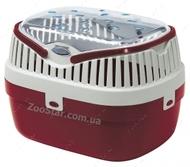 (Ферпласт) ALADINO MEDIUM - переноска для мелких животных, красная 30х23х21 см