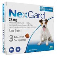 Нексгард - таблетки от блох и клещей для собак от 4 до 10 кг NexGard