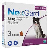 Нексгард - таблетки от блох и клещей для собак от 10 до 25 кг NexGard