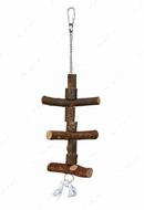 Игрушка для попугаев из натурального дерева Natural Living Toy