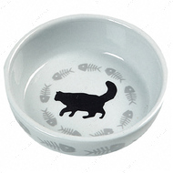 """CATS SINGLE"" Миска с рисунком кота для котов"