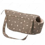 """""""DOGCITY"""" сумка переноска для собак и кошек, с рисунком"""