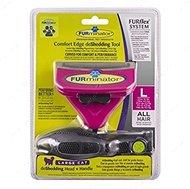 Фурминатор инструмент против линьки, для кошек FURflex Comfort Edge deShedding Head & Handle for Cats