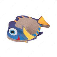 """FISH SCRATCHING BOARD"" рыба когтеточка доска для котов"