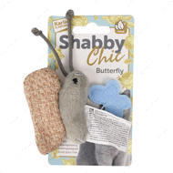 """Shabby Chic Butterfly"" ШЕБИ ШИК БАБОЧКА игрушка для кошек, с кошачьей мятой"