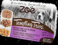 Консервированный корм для собак на основе мяса курицы и ягненка Tempting Trios