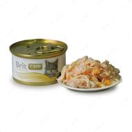 «Куриная грудка и сыр» консервы для кошек
