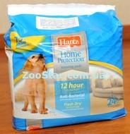 Супервпитывающие антибактериальные пеленки для собак и щенков с привлекающим запахом Puppy Training Pads - 56х56 см - 24 штуки