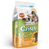 Зерновая смесь лакомство для грызунов, гранулы с овощами КРИСПИ СНЕК ФИБРЕС Crispy Snack Fibres