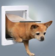 Дверца врезная для собак Free Dog 2-Way Dog Flap XS-S
