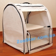 Выставочная палатка для кошек, собак -  Модуль Единица Белая