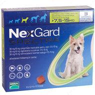Нексгард  Спектра- таблетки от блох и клещей для собак от 7.5 до 15 кг NexGard Spectra
