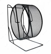Колесо для грызунов на подставке Exercise Wheel with Closed Mesh Running Surface, Metal
