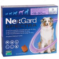 Нексгард  Спектра- таблетки от блох и клещей для собак от 15 до 30 кг NexGard Spectra