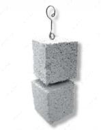 Камень для стачивания зубов и клюва, две половинки