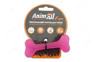 Игрушка для собак кость жевательная фиолетовая AnimAll Fun