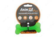 Игрушка для собак кость жевательная зеленая AnimAll Fun