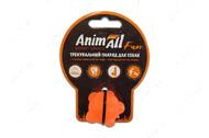 Игрушка для собак молекула жевательная оранжевая AnimAll Fun