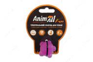 Игрушка для собак молекула жевательная фиолетовая AnimAll Fun
