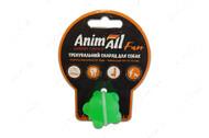 Игрушка для собак молекула жевательная зеленая AnimAll Fun