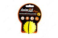 Игрушка для собак мяч каштан желтый AnimAll Fun