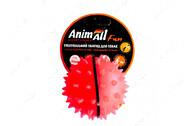 Игрушка для собак мяч каштан коралловый AnimAll Fun