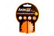 Игрушка для собак мяч каштан оранжевый AnimAll Fun