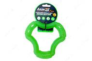 Светоотражающая игрушка для собак кольцо 6 сторон зеленая AnimAll Fun 15