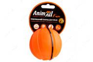 Игрушка для собак мяч тренировочный оранжевый AnimAll Fun