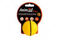 Игрушка для собак мяч тренировочный желтый AnimAll Fun