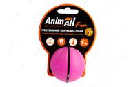 Игрушка для собак мяч тренировочный фиолетовый AnimAll Fun