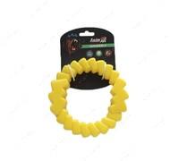Игрушка для собак кольцо мотивационное желтое AnimAll GrizZzly 9789
