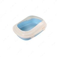 Туалет для котов под наполнитель голубой AnimAll