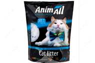 Силикагелевый наполнитель для котов Кристаллы аквамарина AnimAll