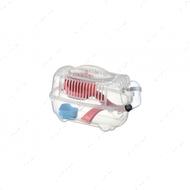 Переноска-клетка для хомяка AnimAll CRYSTAL RED