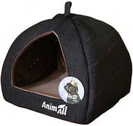Домик для собак и кошек серый AnimAll Piter M