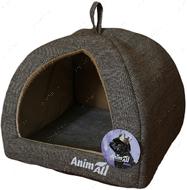 Домик для собак и кошек серый AnimAll Darling S