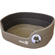 Лежак для собак и котов коричневый AnimAll Alice 1